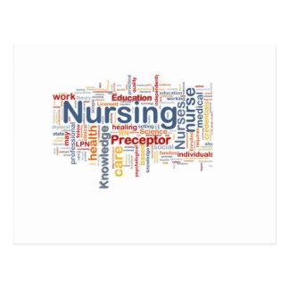 Nursing gift postcard