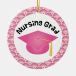 Nursing Graduate Pink Gift Ornament