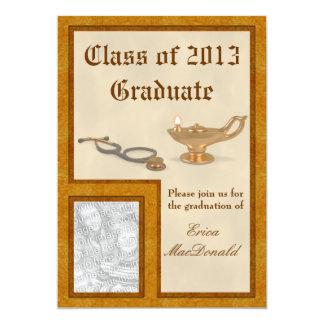 "Nursing Graduation Invitation 5"" X 7"" Invitation Card"