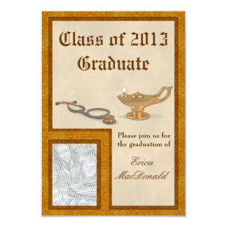 "Nursing Graduation Invitation 3.5"" X 5"" Invitation Card"