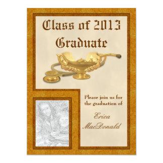 "Nursing Graduation Invitation 6.5"" X 8.75"" Invitation Card"
