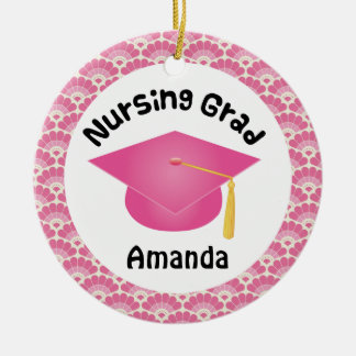 Nursing Graduation personalized gift Christmas Ornament