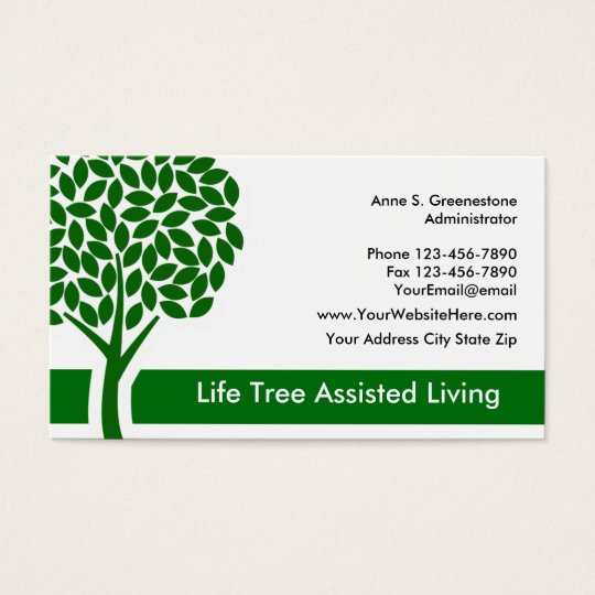 Nursing Home Business Cards
