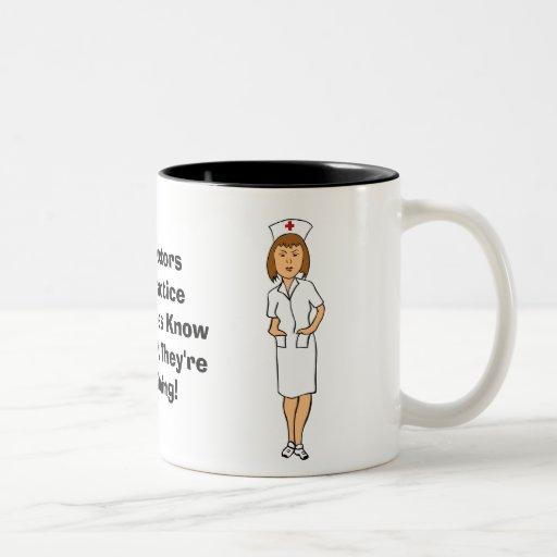 Nursing Humor Coffee Mug