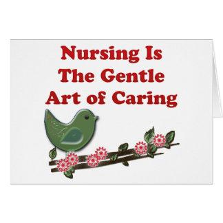 Nursing Is Caring Greeting Card