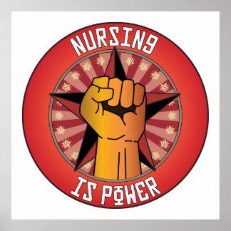 Nursing Is Power Poster