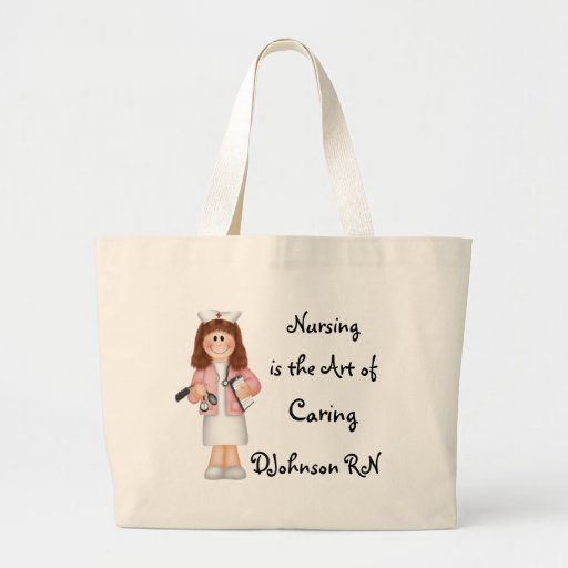 Nursing is the Art of Caring Tote Bag