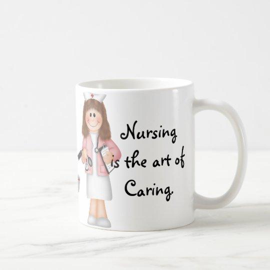 Nursing is the art of Caring Coffee Mug