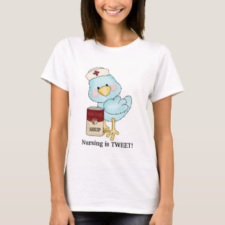 Nursing Is Tweet t-shirt