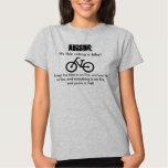 Nursing, it's like riding a bike! Into Hell. T-shirt