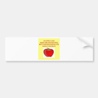 nursing joke bumper sticker