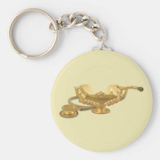 Nursing Lamp Basic Round Button Key Ring
