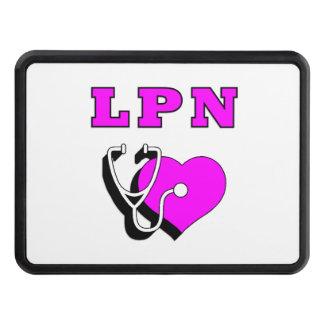 Nursing LPN Care Trailer Hitch Covers