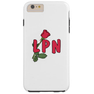Nursing LPN Rose Tough iPhone 6 Plus Case