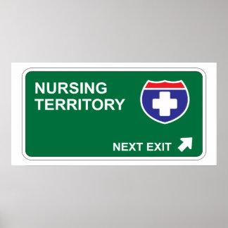 Nursing Next Exit Poster