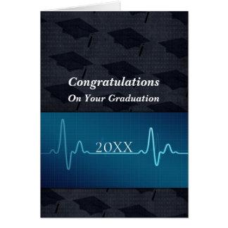Nursing or Medical or Doctor Graduation Greeting Card