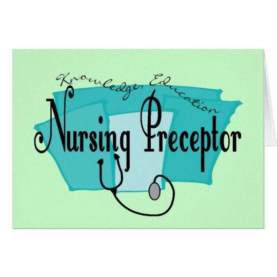 Nursing Preceptor Gifts Card