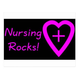 nursing rocks postcard