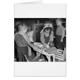 Nursing School: 1940s Greeting Card
