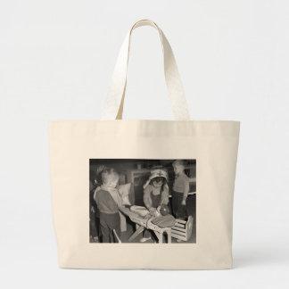 Nursing School: 1940s Jumbo Tote Bag