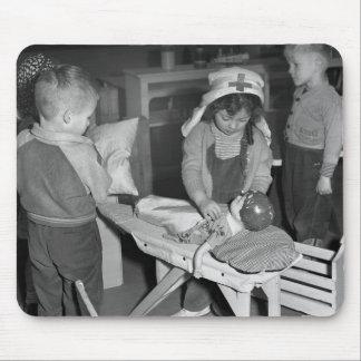 Nursing School: 1940s Mouse Mat