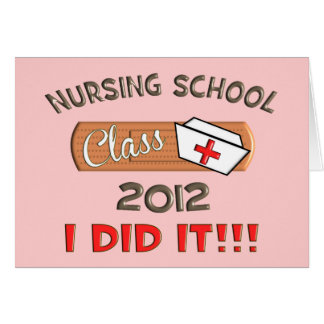 Nursing School 2012 Graduation Card