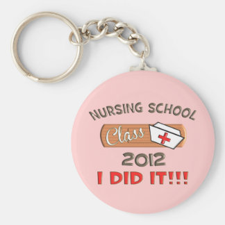 Nursing School 2012 Graduation Key Ring