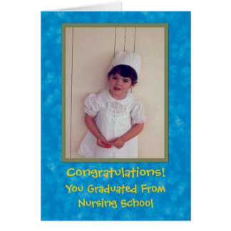 Nursing School Congratulations Greeting Card