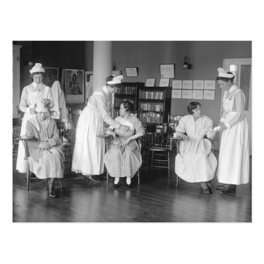Nursing School, early 1900s Postcard