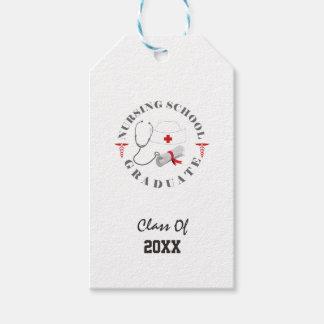 Nursing School Graduate Gear Gift Tags