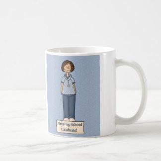 Nursing School Graduate Basic White Mug
