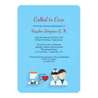 Nursing School Graduates Invitation