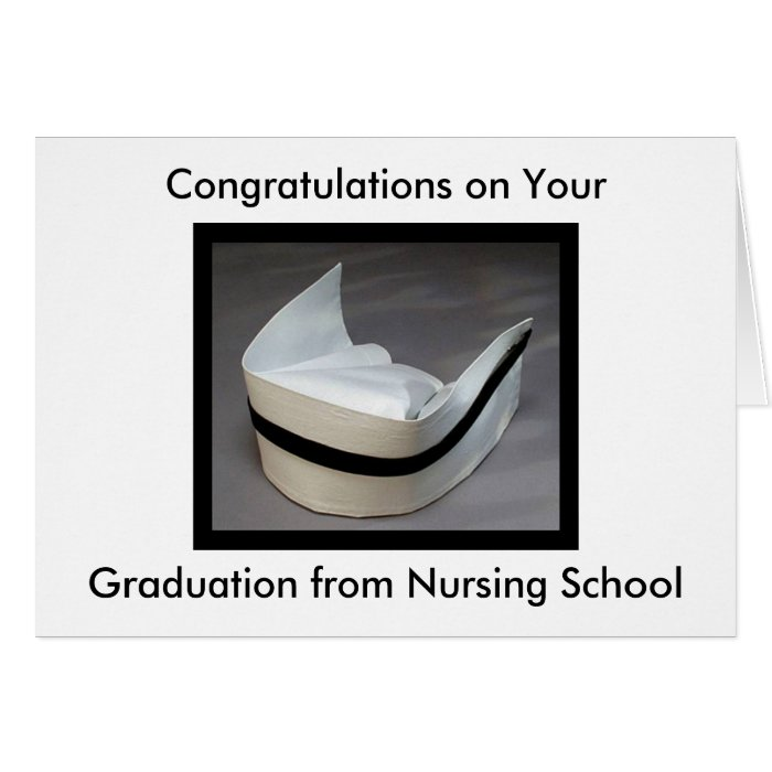 Nursing School Graduation Greeting Card