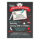 Nursing School Graduation Party Prescription Card