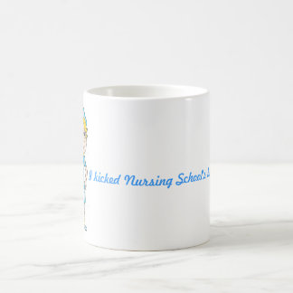 Nursing school is over basic white mug