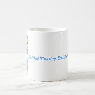 Nursing school is over classic white coffee mug