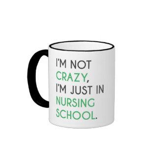 Nursing School Mug - I'm Not Crazy