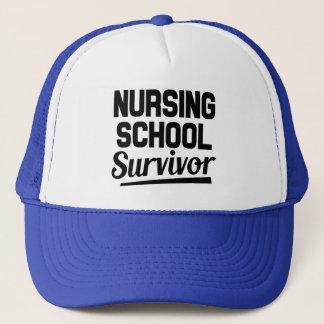 Nursing school survivor hat