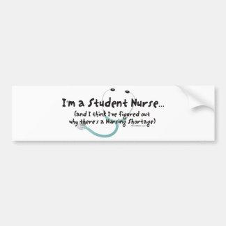 Nursing Shortage Bumper Sticker