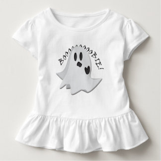 Nursing Silly Ghost Toddler Ruffle Tee