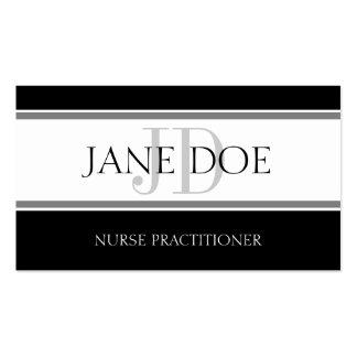 Nursing Stripes White Pack Of Standard Business Cards