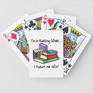 Nursing Student Bicycle Playing Cards
