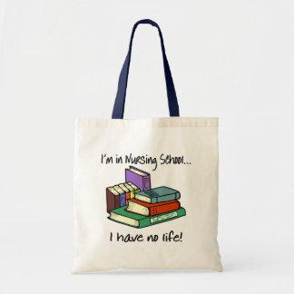 Nursing Student Budget Tote Bag