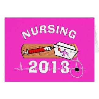 Nursing Student Class of 2013 Card