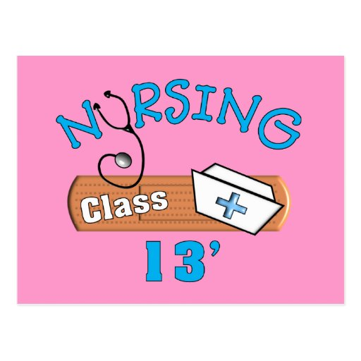 Nursing Student Class of 2013 Gifts Postcards