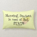 Nursing Student in Need of Hug Pillow