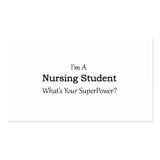 Nursing Student Pack Of Standard Business Cards