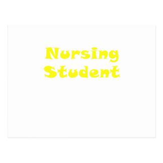 Nursing Student Postcard