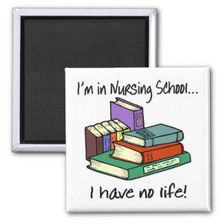 Nursing Student Square Magnet
