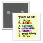 Nursing Student  to Do List Buttons